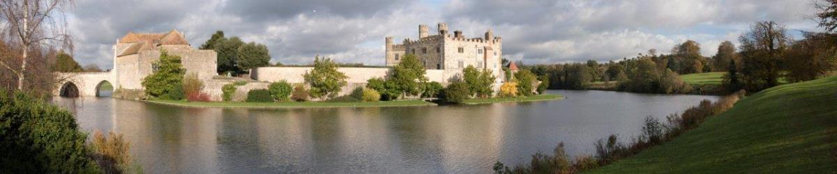 Image of a Castle and Moat in Kent